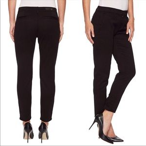 AG Adriano Goldschmied black Caden trousers pant K